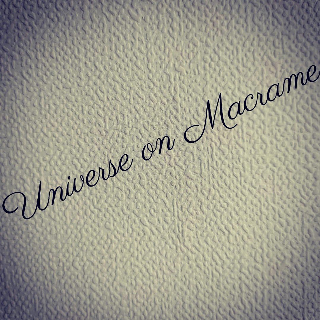 Universe on Macrame