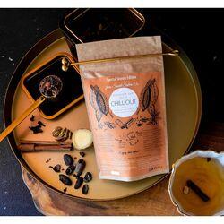 Какаов чай с кокосово мляко и  масала подправки Chocolate Chai Chill out Latte